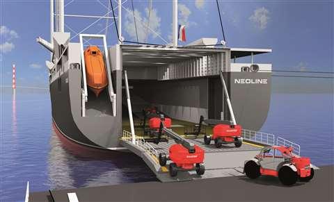 Eco-friendly sea transport company NEOLINE